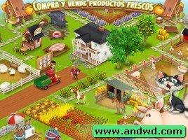 تحميل لعبة المزرعة السعيدة Hay Day اندرويد
