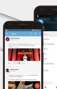 تحميل بديل تطبيق تويتر tweetings للاندرويد