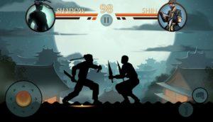 قاتل جميع اعدائك وفوز بالمراحل shadow-fight