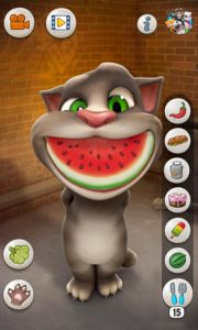 قم بأطعام القط توم والعب معه