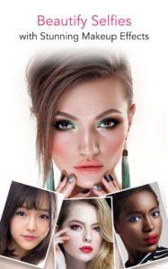 اجعلي صورك تبدو جميلة مع برنامج YouCam Makeup