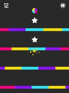 تحميل لعبة دوائر الألوان المجنونة Color Switch للاندرويد
