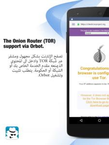 تحميل تطبيق InBrowser APK متصفح فتح المواقع المحجوبة