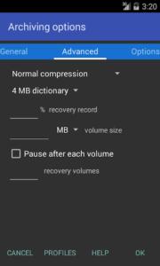 تحميل برنامج فتح الملفات المضغوطه RAR for Android للاندرويد